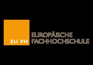 Logo - EU|FH - Europäische Fachhochschule - Partner der Ibeda Akademie Köln