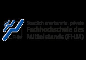 Logo - FHM, Fachhochschuzle des Mittelstands - Partner der Ibeda Akademie Köln