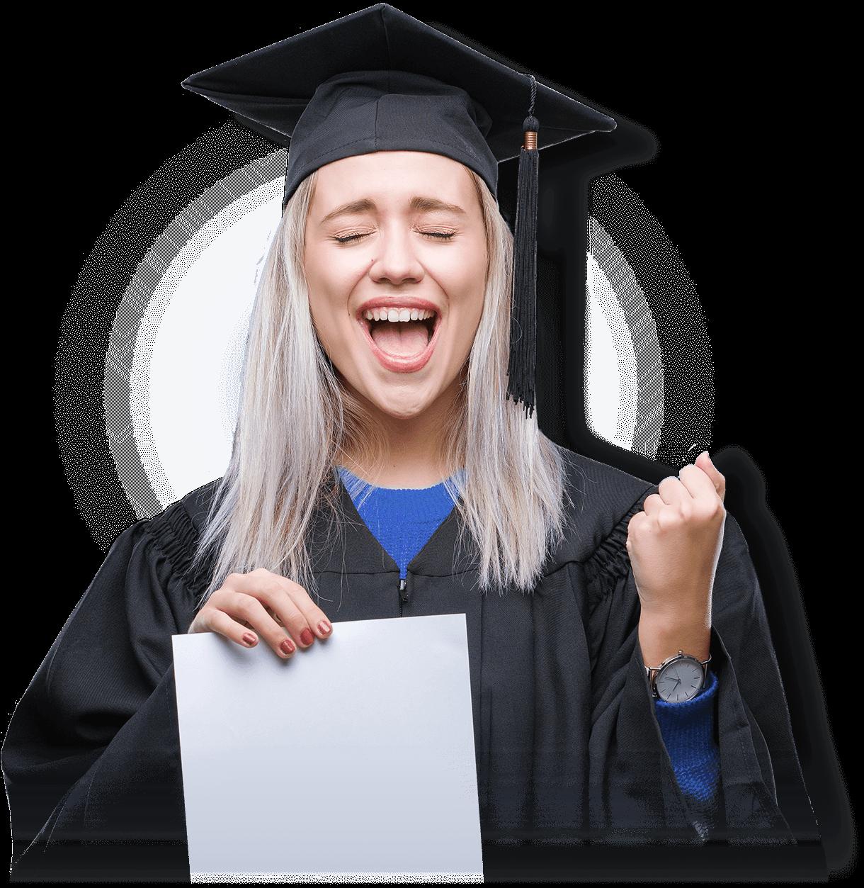 Absolventin - Ibeda Akademie